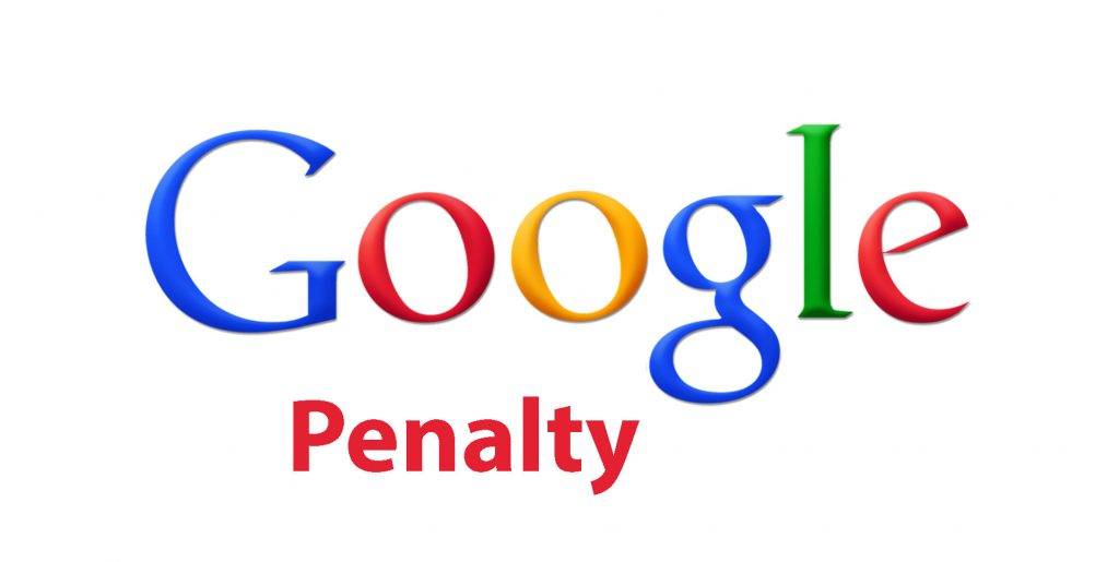 Google's Over Optimisation Penalty