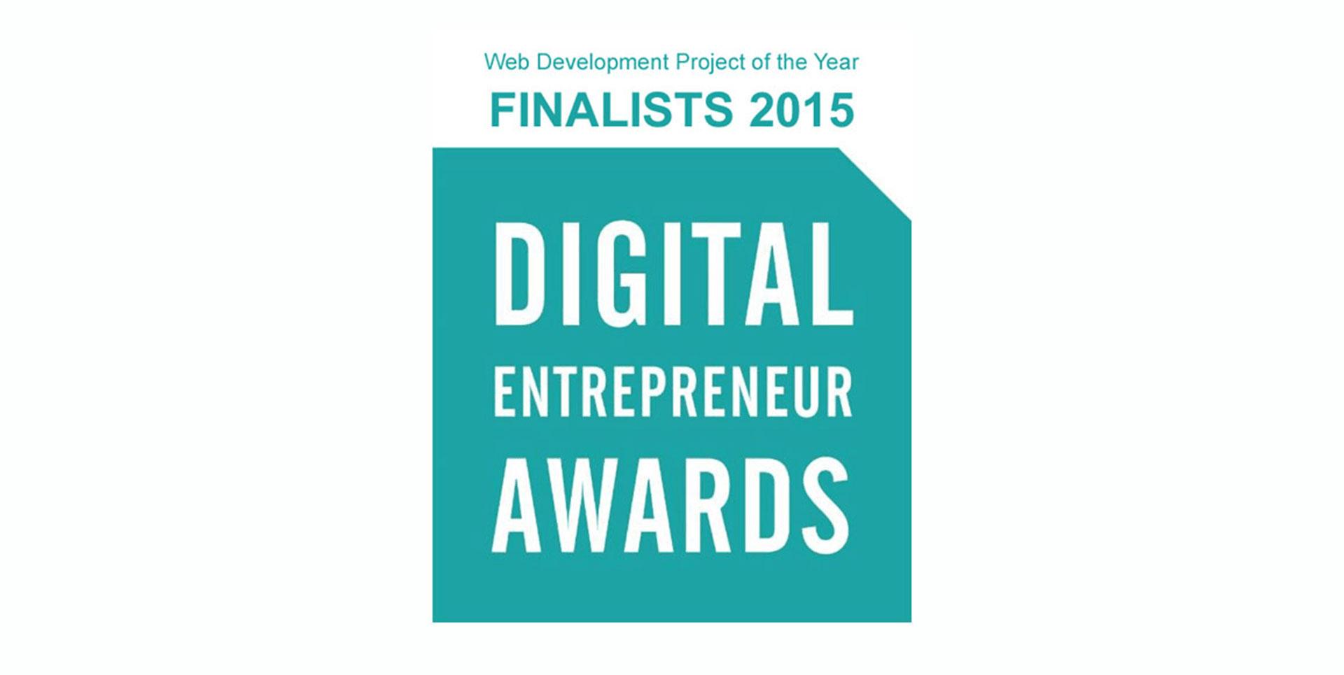 Digital Entrepreneur Award Finalists 2015