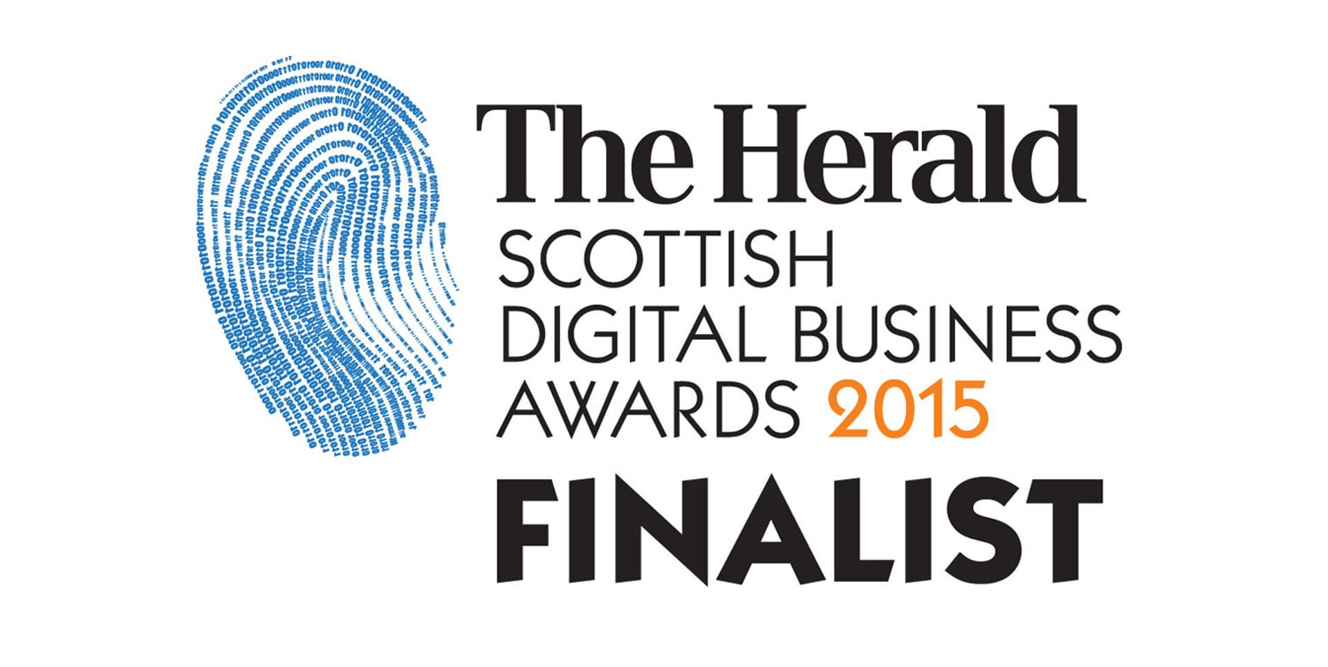 The Herald Scottish Digital Business Awards 2015