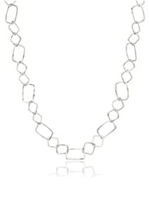 Hamilton & Inches silver chain link necklace