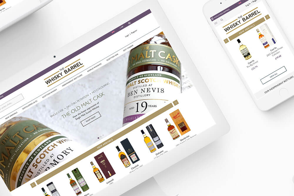 Magento Devices - The Whisky Barrel