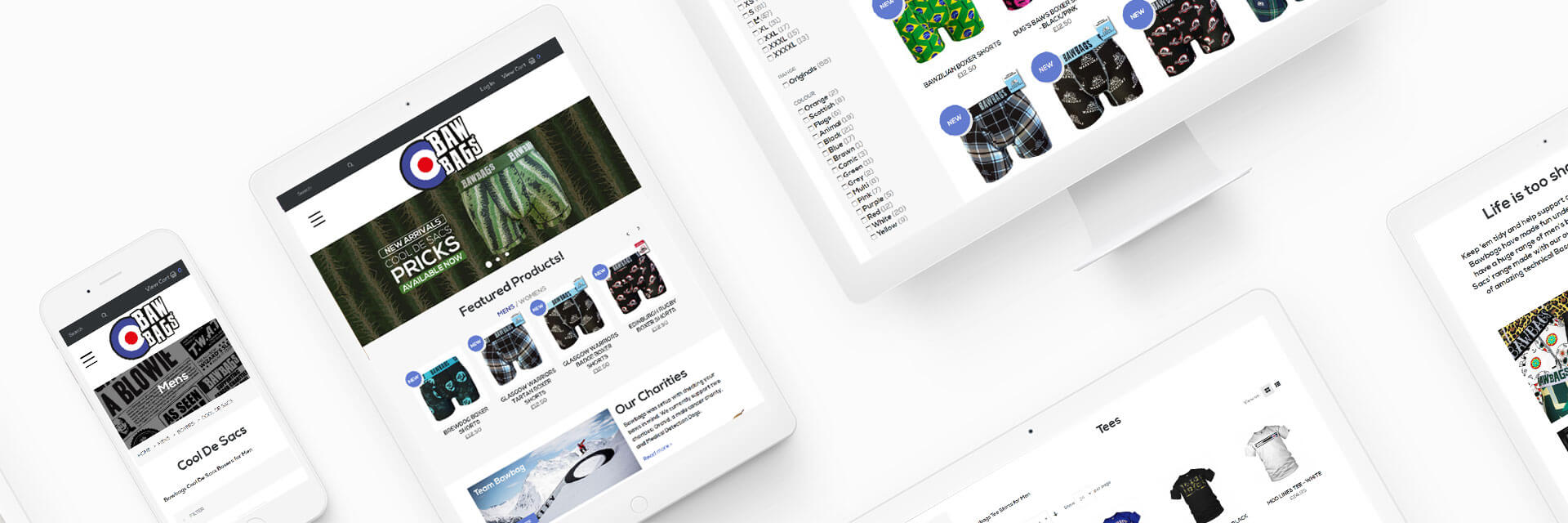 Bawbags Magento Ecommerce Project