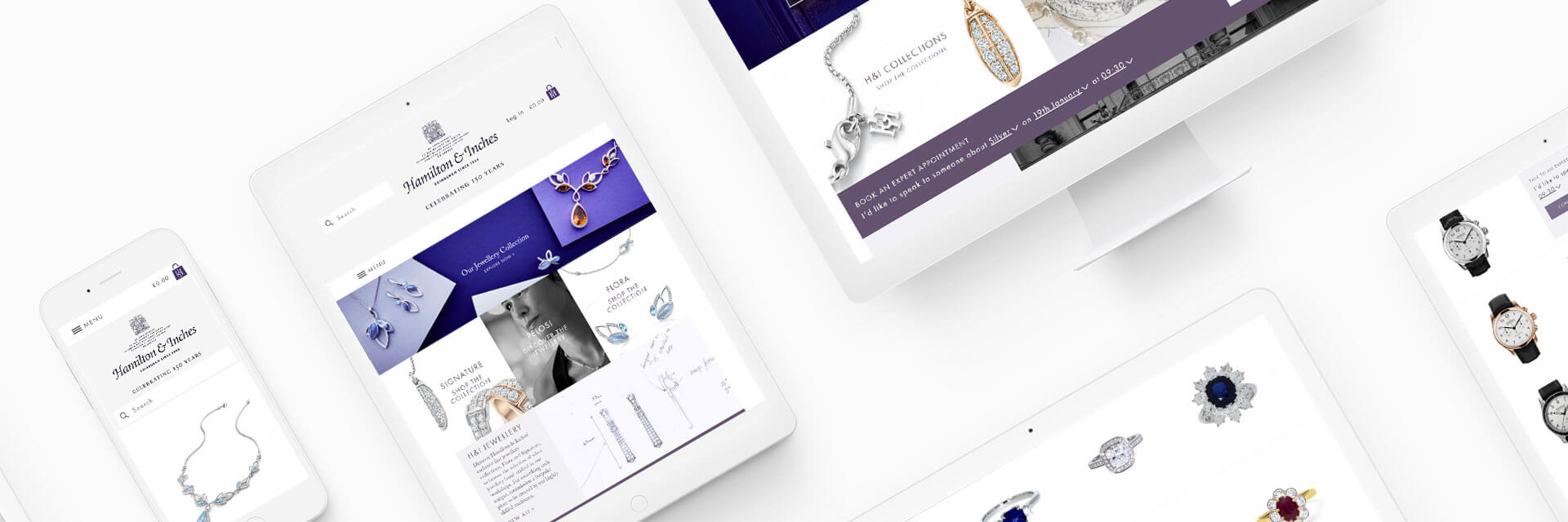 Hamilton & Inches Magento Ecommerce Project