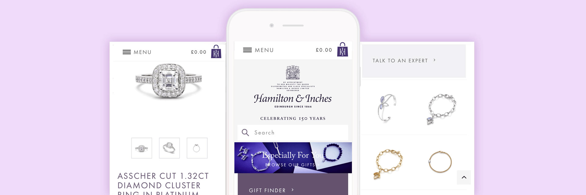 Hamilton & Inches mobile