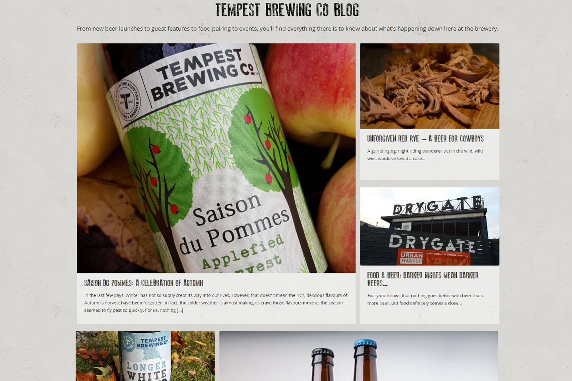 Tempest Brewing Co project