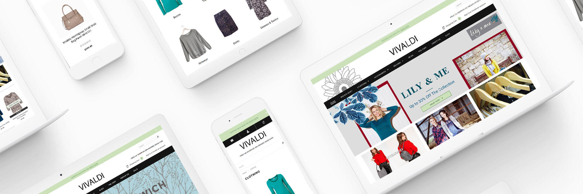 Vivaldi Shopify Ecommerce Project