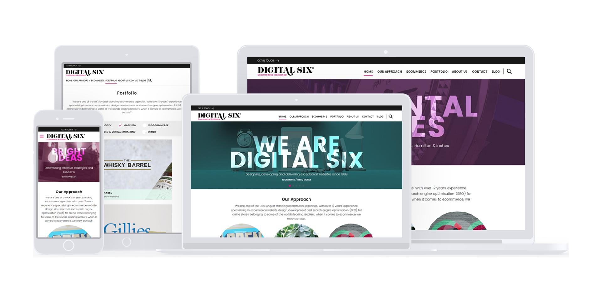 New Digital Six website
