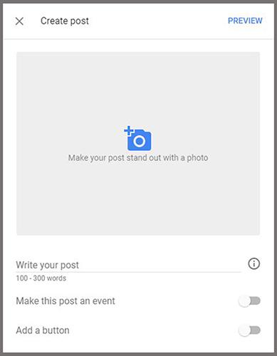 Create a Google Post