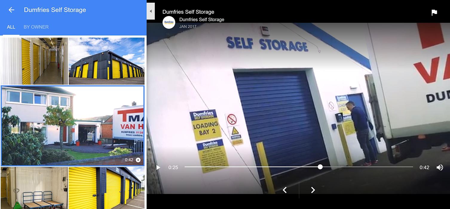 Dumfries Self Storage video