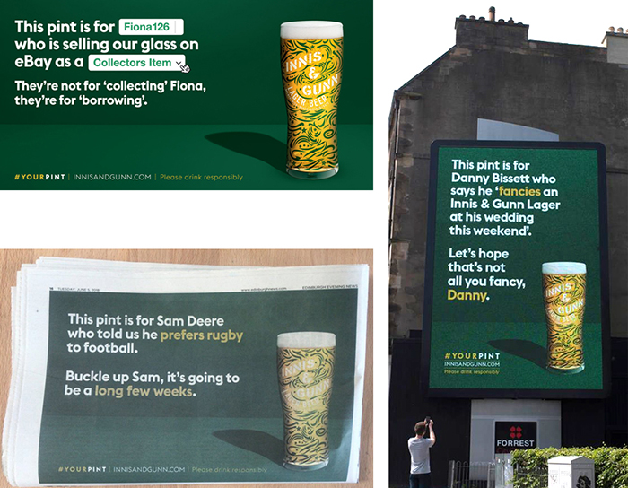 Innis and Gunn YourPint Campaign