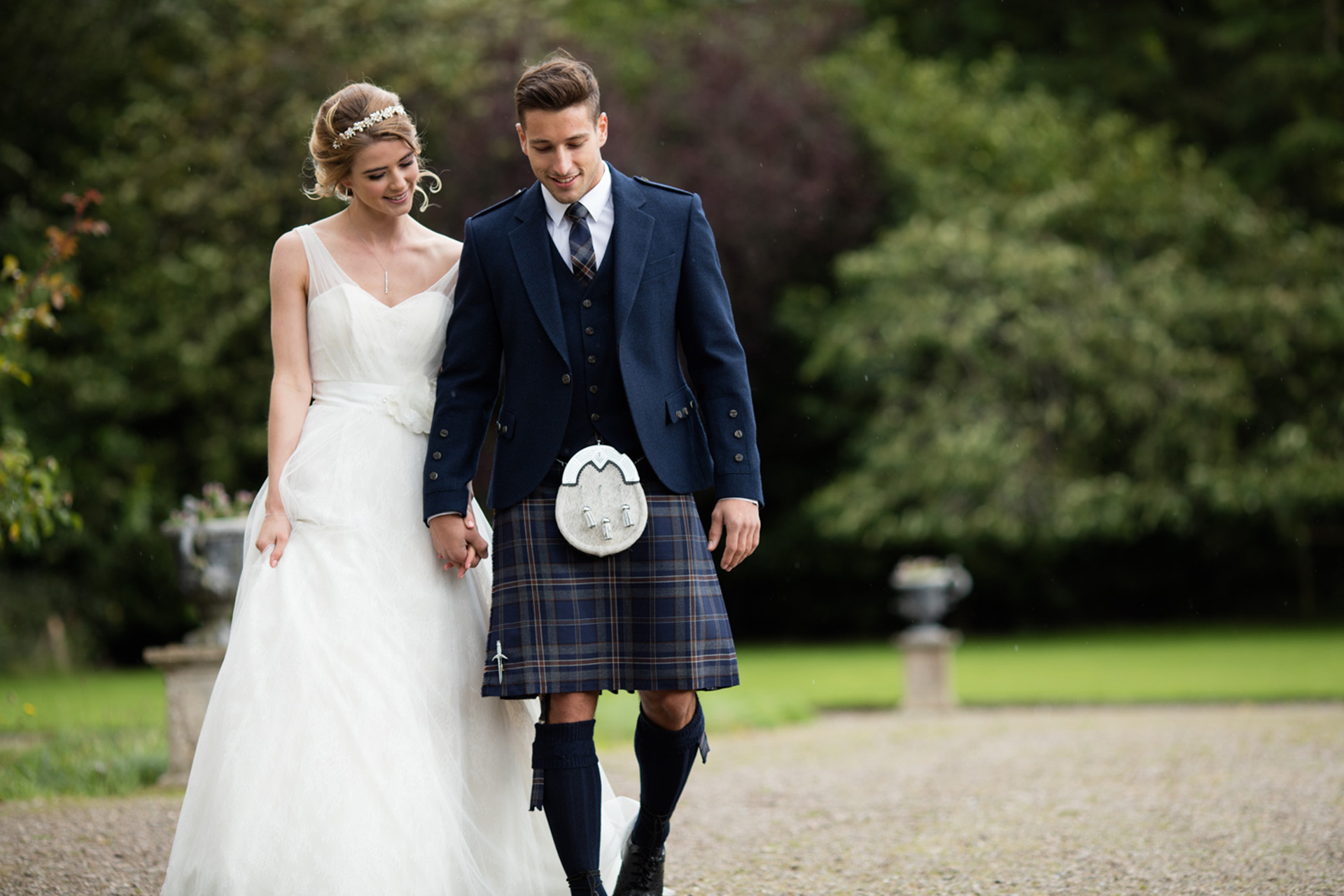 MacGregor and MacDuff Wedding Outfit
