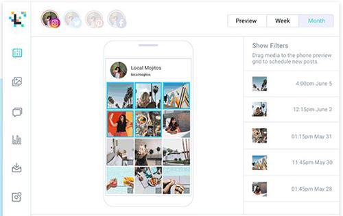 Later Instagram Planner