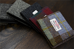 Harris Tweed wallets