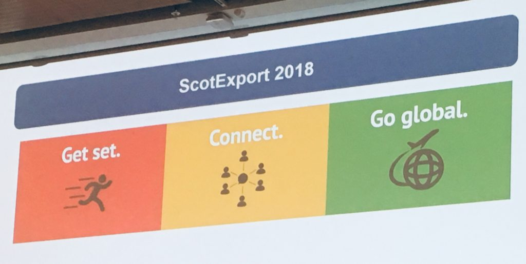 ScotExport 2018 - Scotland's Flagship Exporting Event