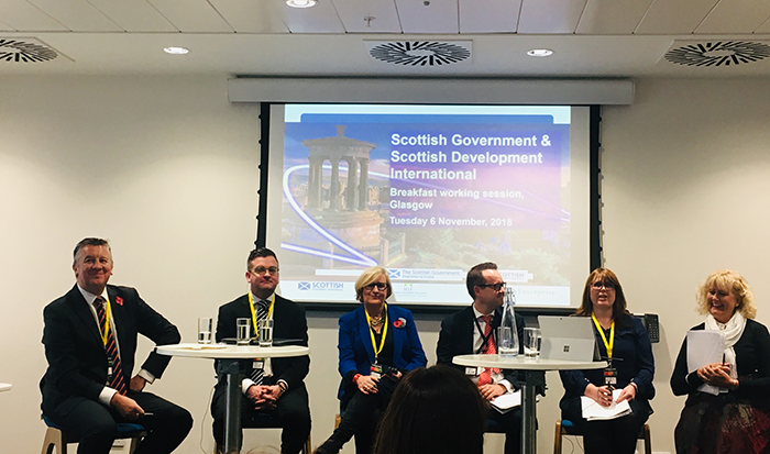 ScotExport 2018 Getting Prepared for Brexit Panel with The Weir Group, Institute of Export & International Trade, HMRC and Burness Paull