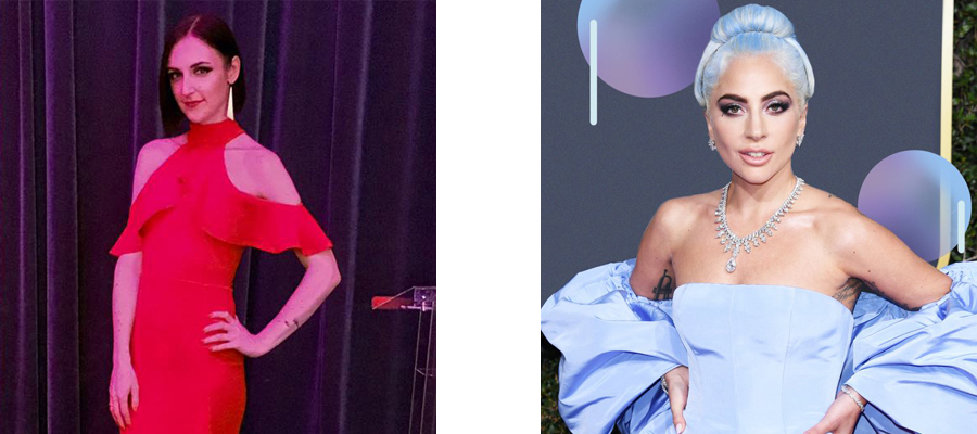 Louise and Lady Gaga