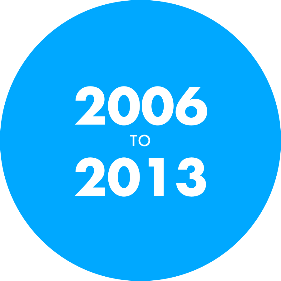 Digital Six 2006 to 2013