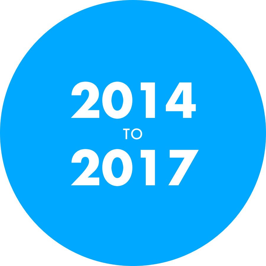 Digital Six 2014 to 2017