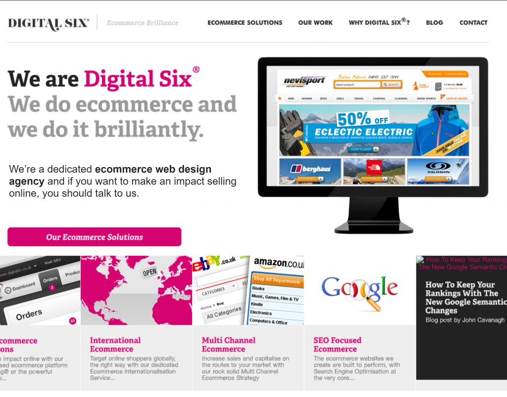 Digital Six Website 2012