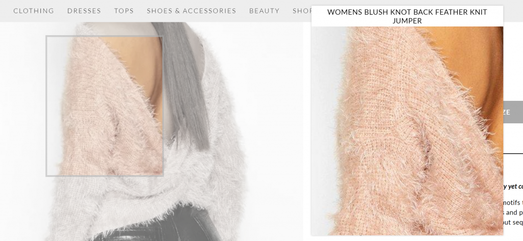 Boohoo Product Page