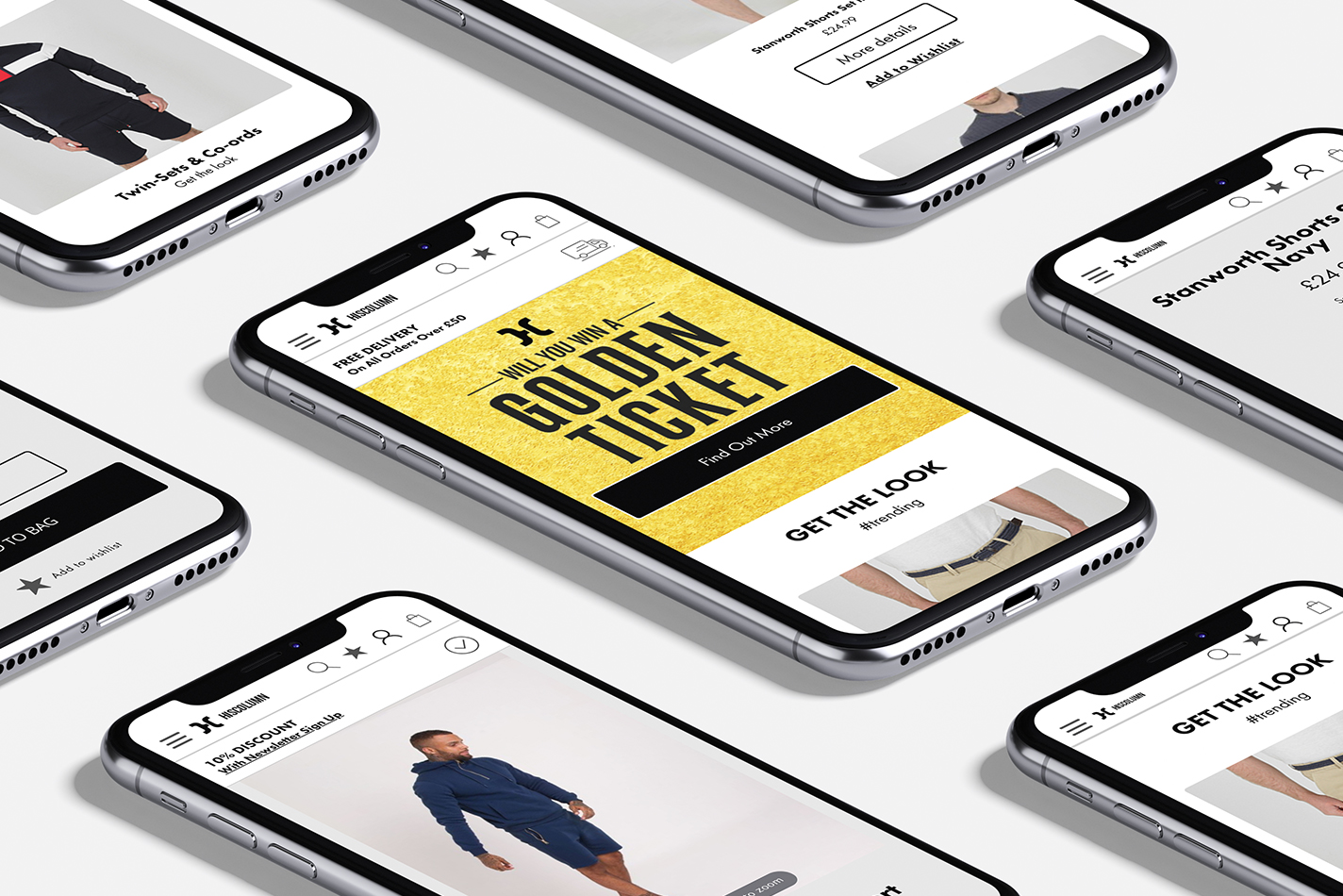 Ecommerce assets designed by Digital Six