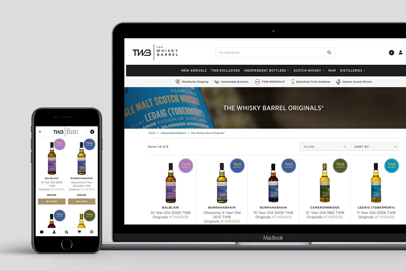 The Whisky Barrel PWA Case Study